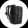 Branve DYNAMIC 2 in 1 Backpack. Detail backpack straps.