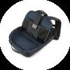 Branve DYNAMIC 2 in 1 Backpack interior pocket details.