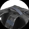 Branve DYNAMIC 2 in 1 Backpack. Back strap detail