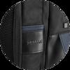 Branve DYNAMIC 2 in 1 Backpack logo detail.