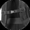 Branve DYNAMIC 2 in 1 Backpack handle lock detail.