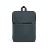 Branve URBAN Backpack front in dark grey colour. Versatile, high-density soft shell city tarpaulin backpack.