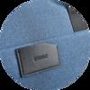 Branve MOTION Bag in blue with logo detail