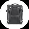 Branve EMPIRE backpack back.