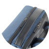 Branve MOTION Backpack blue colour with details viewed from above