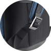 Branve MOTION Backpack blue colour with adjustable strap