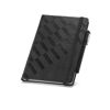 Branve GEOMETRIC Notebook with pen holder detail (pen not included)