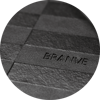 Branve GEOMETRIC Notebook cover with brand logo detail