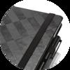 Branve GEOMETRIC Notebook elastic band detail