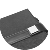 Branve EMPIRE Notebook buckle detail.