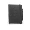 Branve TILES Notebook. A5 hard cover imitation leather notepad with pen holder (pen not included).