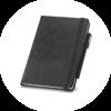 Branve TILES Notebook with pen holder detail (pen not included)